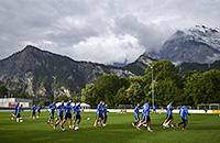 Рай, в котором сборная России готовится к Евро