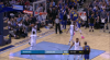 Draymond Green with one of the day's best assists
