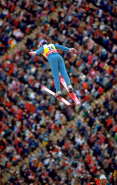 Эдди Эдвардс, прыжки с трамплина, Калгари-1988, сборная Великобритании, МОК
