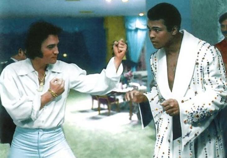 Элвис Пресли занимался боксом ровно один день – его жутко избили. Потом он снялся в роли боксера, а готовил его чемпион мира