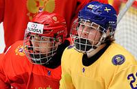 Видеотрансляция матча Россия – Швеция. Смотрим финал ЮЧМ-2019 вместе