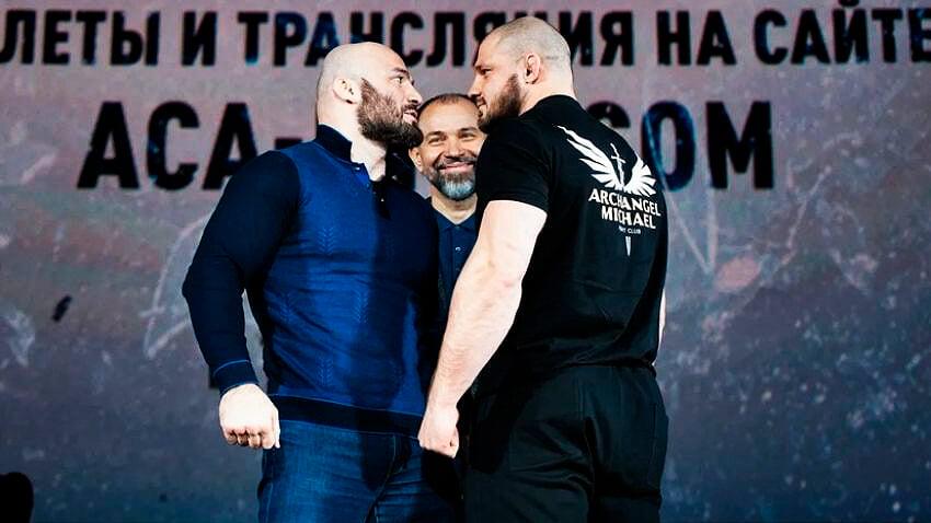 Мага Исмаилов – Иван Штырков: онлайн главного боя ACA 115