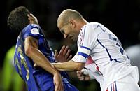сборная Италии, сборная Франции, Марко Матерацци, ЧМ-2006, Зинедин Зидан