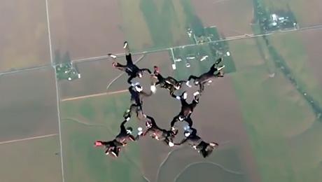 Прыжки с парашютом, от которых захватывает дух