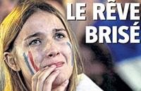 «Мечта разрушена». Первые полосы газет во Франции и Португалии