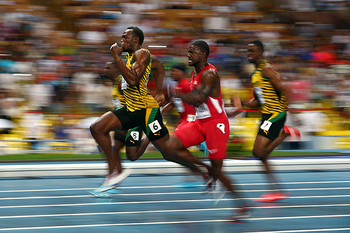 Джастин Гэтлин, Усэйн Болт, Рио-2016, бег