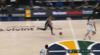 Donovan Mitchell with one of the day's best blocks