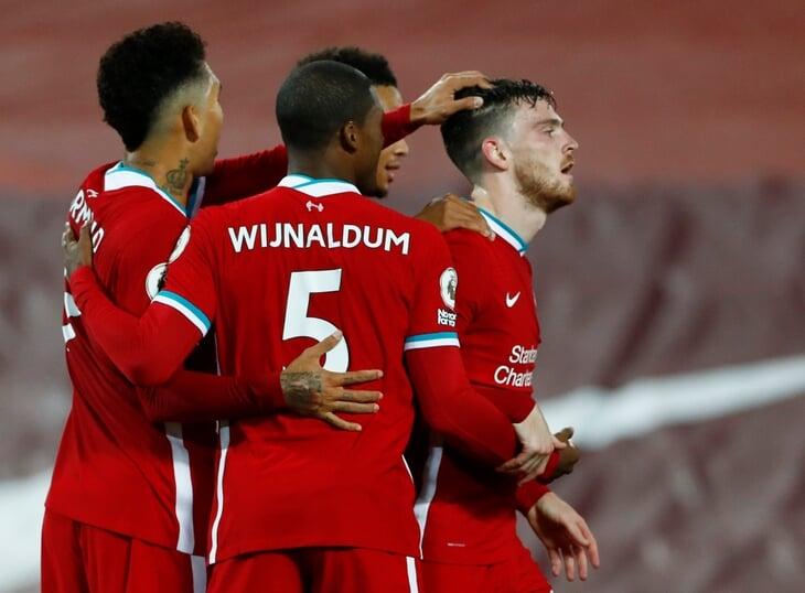 «Ливерпуль» придавил «Арсенал»: Робертсон привез, но исправился, Жота забил 400-й гол команды в АПЛ при Клоппе