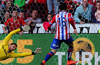 Атлетико, примера Испания, видео, Спортинг Хихон, Карлос Кастро