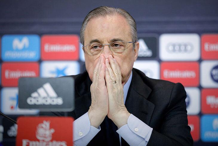 «В групповом этапе ЛЧ есть матчи, которые никто не смотрит». Как думаете, Перес говорил про матчи вроде «Реал» – «Шериф»?