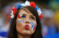 Самые эффектные болельщицы сборных, участвующих в Евро-2016