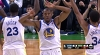 Andre Iguodala with the big dunk
