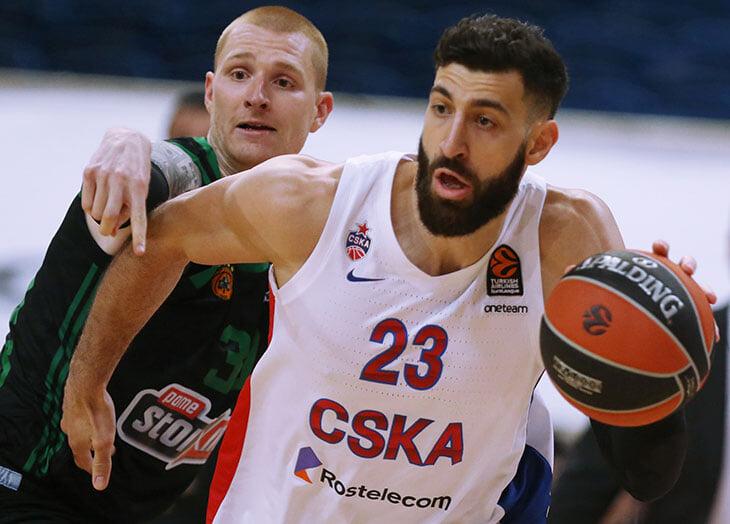 ЦСКА обыграл «Панатинаикос» на выезде. И показал все богатство европейского баскетбола