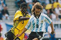 Сборная Аргентины по футболу, Габриэль Батистута, Ариэль Ортега, сборная Ямайки по футболу, ЧМ-1998