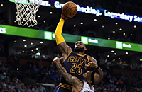 видео, Кливленд, НБА, Бостон, ЛеБрон Джеймс