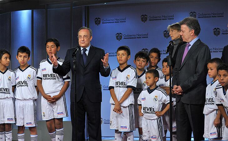 Трансферы «Реала» (Хамес, Навас, Чичарито) помогают строительной компании Переса. Футбол – лишь часть его империи