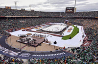 Зимняя классика, НХЛ, фото, Даллас, Нэшвилл
