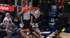 Karl-Anthony Towns slams it home