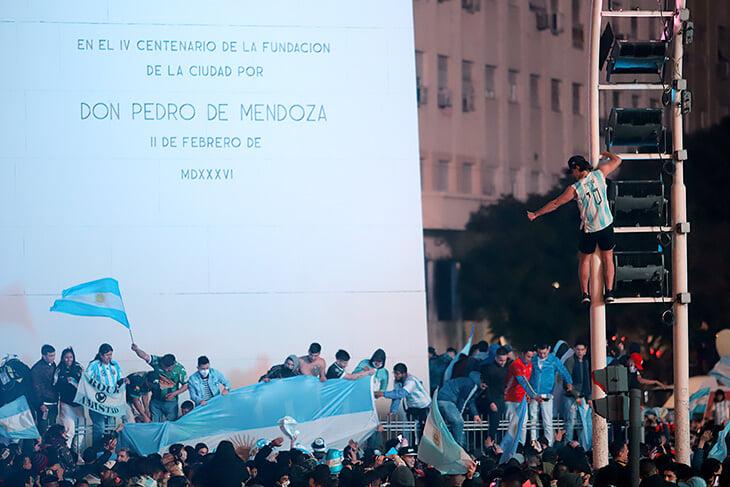Ночь счастья в Буэнос-Айресе, Росарио и всей Аргентине: огни, танцы, слезы