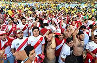 Это финал Кубка Америки. Показываем матч Бразилии и Перу
