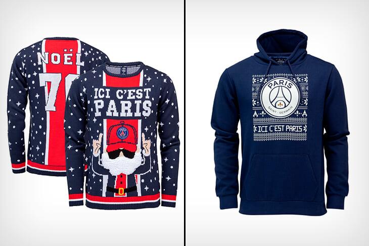 Новогодний спортивный шоппинг-2021: Златан в свитере, красивые бабочки «Болоньи» и кентавр из Dota 2 вместо оленей