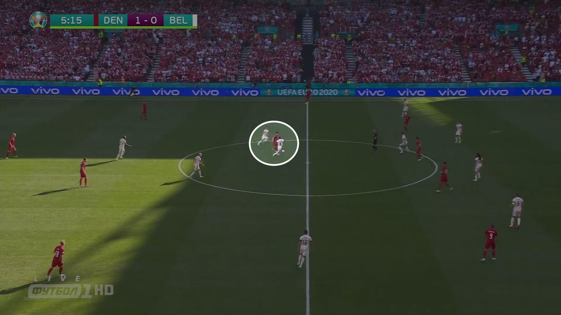 Хейбьерг – важнейший игрок Дании (и, возможно, лучший опорник турнира). Моуринью говорит, что он читает игру как тренер