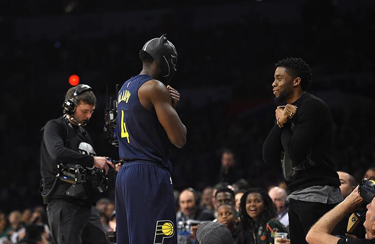 «Черная пантера» – культовая тема для НБА. Сравнивают Леброна с супергероем, мечтают о реальной Ваканде, противопоставляют идеи фильма риторике Трампа