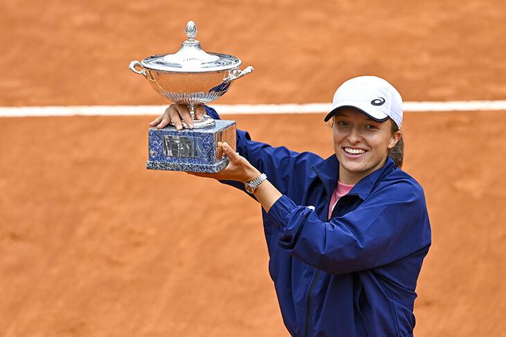 WTA, Ига Швентек, Открытый чемпионат Италии, Каролина Плишкова