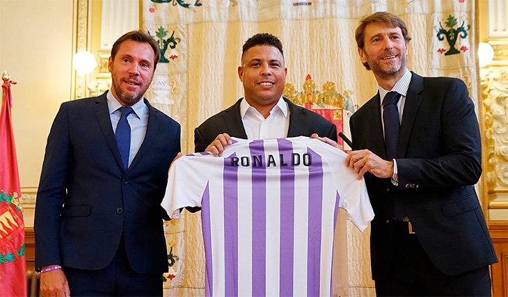 Роналдо, Вальядолид, примера Испания, Реал Мадрид