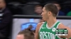 Jayson Tatum with the huge dunk!