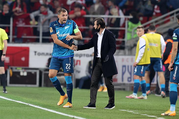 Семак поменял схему и загнал «Спартак» в первом тайме, но не раскатал по моментам за матч – ничья справедлива