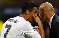 Криштиану Роналду, Реал Мадрид, Лига чемпионов, Зинедин Зидан