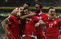 Сборная Сербии по футболу, ЧМ-2018, Сборная Исландии по футболу