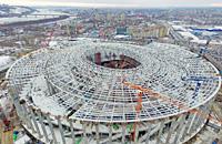 Как сейчас выглядит стадион в Нижнем Новгороде