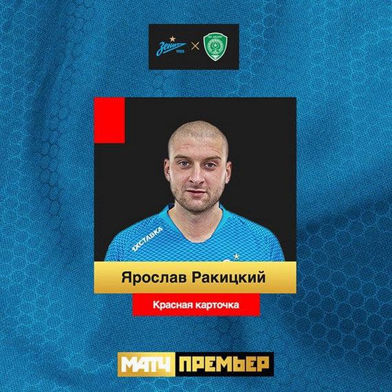 «Зенит» с«Ахматом» сыграли снулевую ничью в6-м туре РПЛ