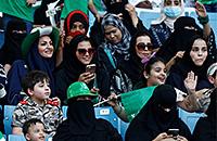 В Саудовской Аравии женщин пустят на футбол. Впервые в истории