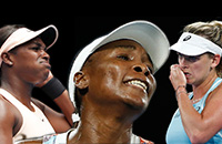 статистика, Джек Сок, Слоун Стивенс, Коко Вандевей, Райан Харрисон, Джон Изнер, WTA, ATP, Australian Open, Винус Уильямс