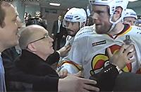 «You are f**king bad person». Хоккеисты «Йокерита» атакуют Петериса Скудру