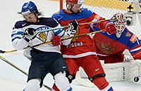 Россия – Финляндия – 1:0. Онлайн