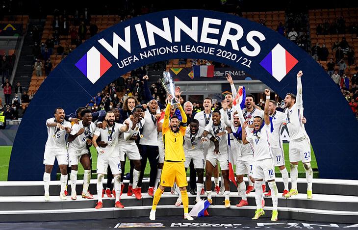 Франция – чемпион Лиги наций! И снова камбэк благодаря Мбаппе: у мегафранцуза гол+пас