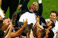 Реал Мадрид, Лига чемпионов, Зинедин Зидан