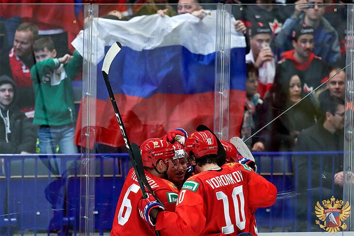 молодежная сборная России, молодежный чемпионат мира, молодежная сборная Канады