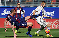 «Реал» проиграл первый тайм «Эйбару». Смотрим дальше