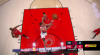 Meyers Leonard goes up to get it and finishes the oop