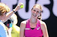 Australian Open, WTA, Йоханна Конта