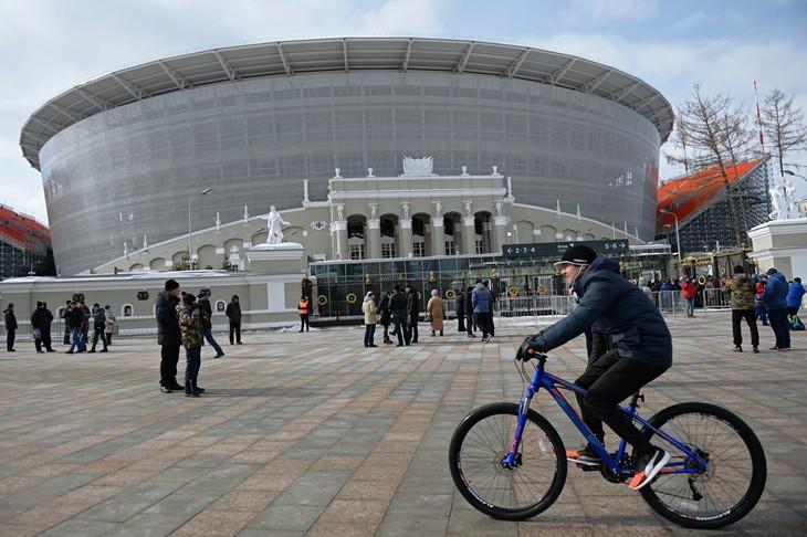 1-ый тестовый матч на«Екатеринбург Арене» прошел вполне неплохо— Алексей Сорокин