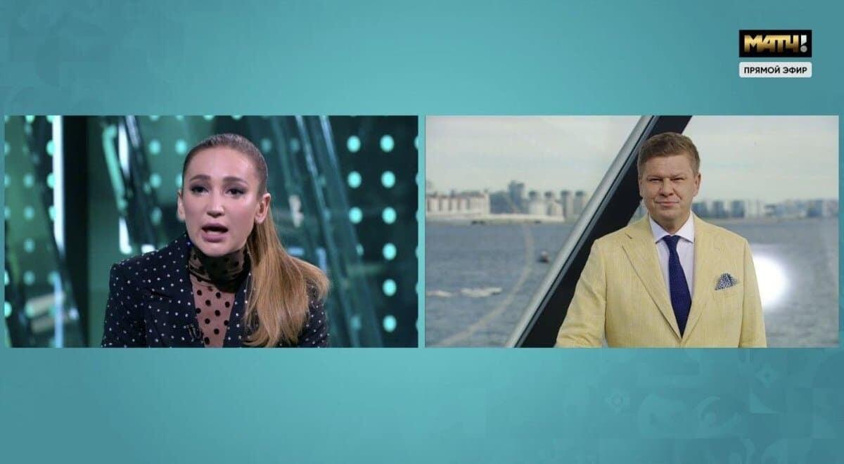 Бузова  Губерниеву: Вы для меня дно, а не мужчина. Комментатор довел девушку до слез в эфире Матч ТВ