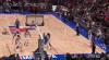 A bigtime dunk by Kristaps Porzingis!