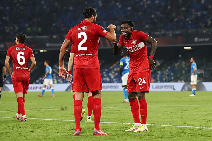 Конец страданиям «Спартака» в еврокубках: оборвали 5-матчевую серию из поражений и наконец-то победили в гостях