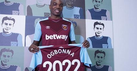 Огбонна подписал новый договор с«Вест Хэмом»